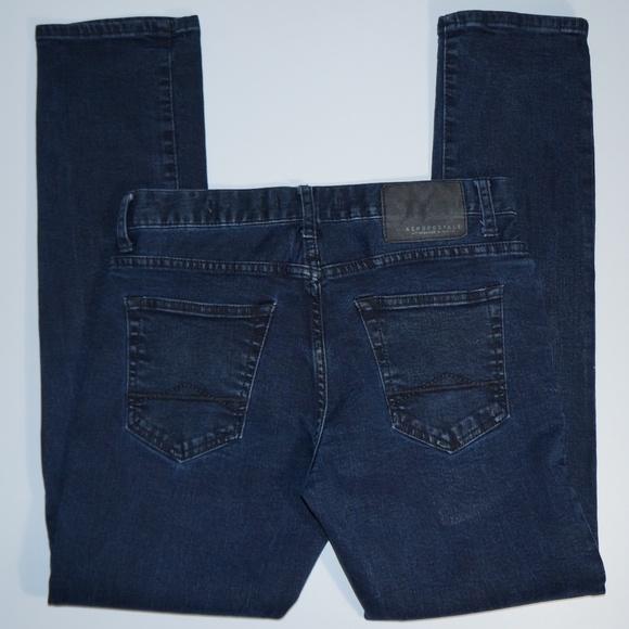 c8fba304365 Aeropostale Jeans   Skinny Indigo Wash Stretch Jean 29x30   Poshmark